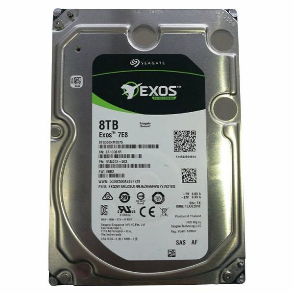 هارددیسک اینترنال سیگیت مدل EXOS ST8000NM0075  ظرفیت ۸ ترابایت
