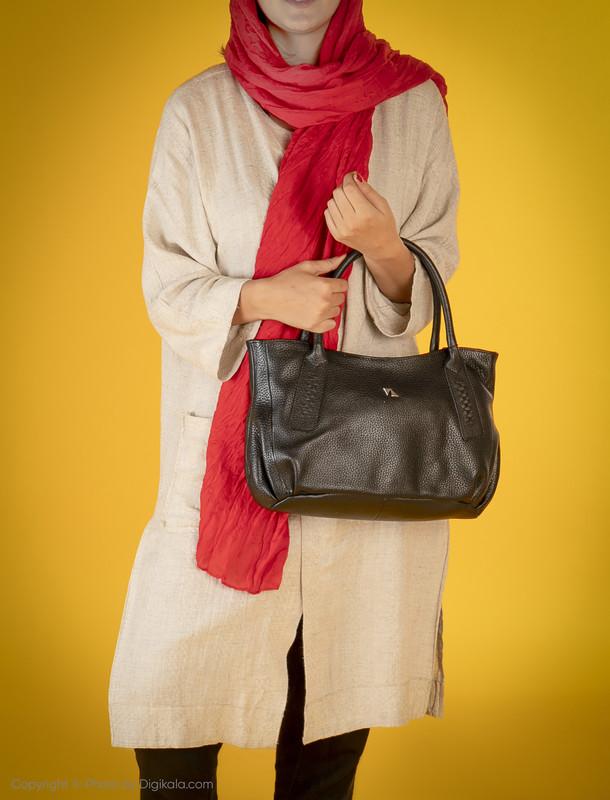 کیف دستی زنانه چرم مشهد مدل S5102-001