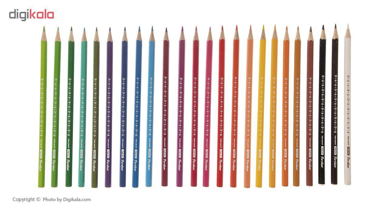 مداد رنگی 24 رنگ پارسیکار مدل JM 880-24-3 main 1 3