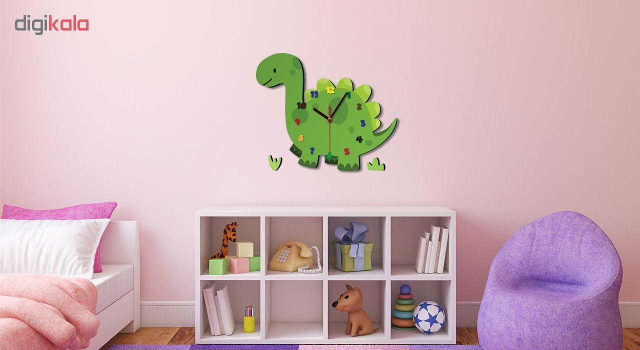 ساعت دیواری کودک ژیوار طرح  دایناسور main 1 1