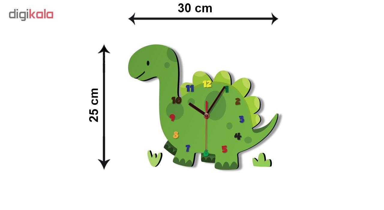 ساعت دیواری کودک ژیوار طرح  دایناسور main 1 2