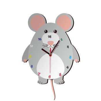 ساعت دیواری کودک ژیوار طرح  موش کوچولو