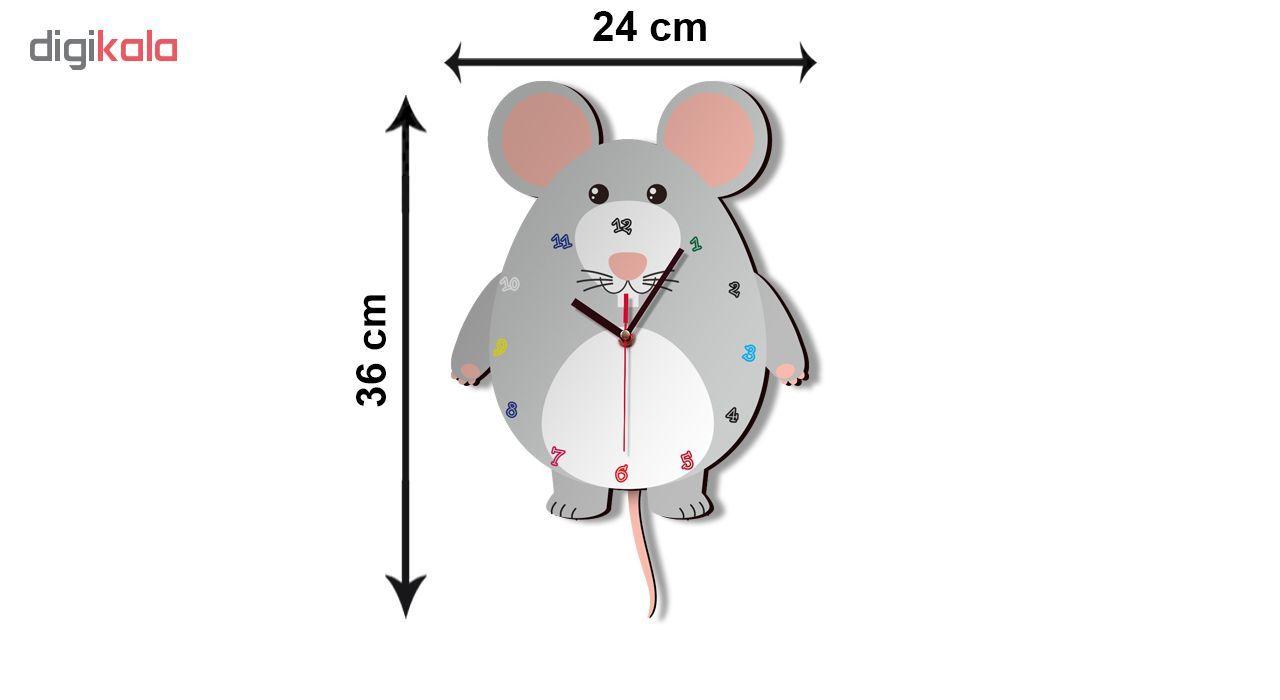 ساعت دیواری کودک ژیوار طرح  موش کوچولو main 1 2