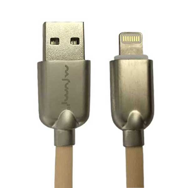 کابل تبدیل USB به لایتنینگ نافومی مدل A6 طول 1 متر