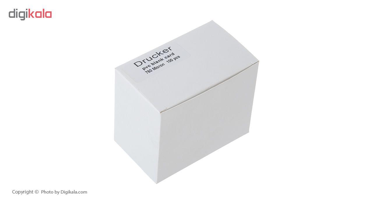 کارت پی وی سی دراکر مدل CP005 بسته 100 عددی