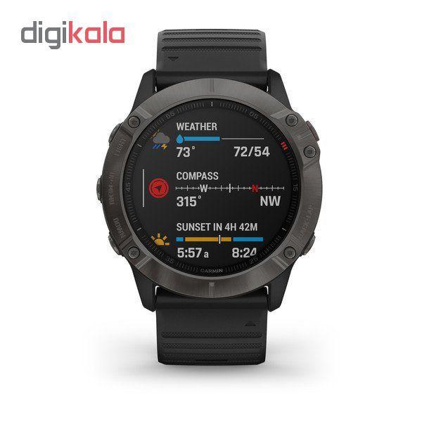 ساعت هوشمند گارمین مدل fenix 6x sapphire main 1 2