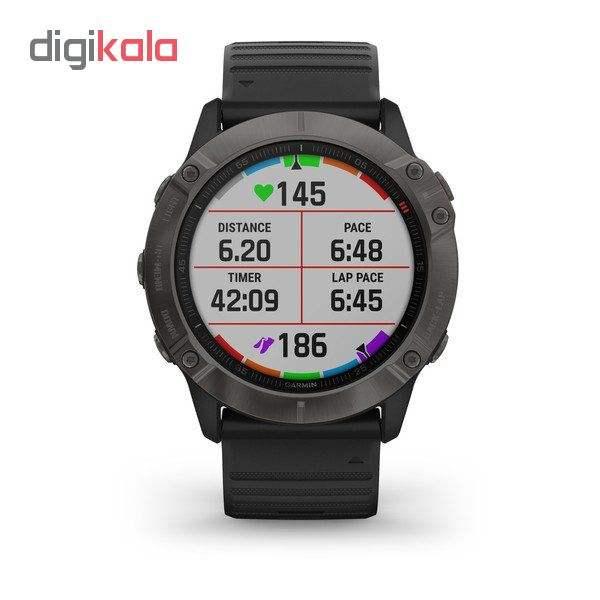 ساعت هوشمند گارمین مدل fenix 6x sapphire main 1 4