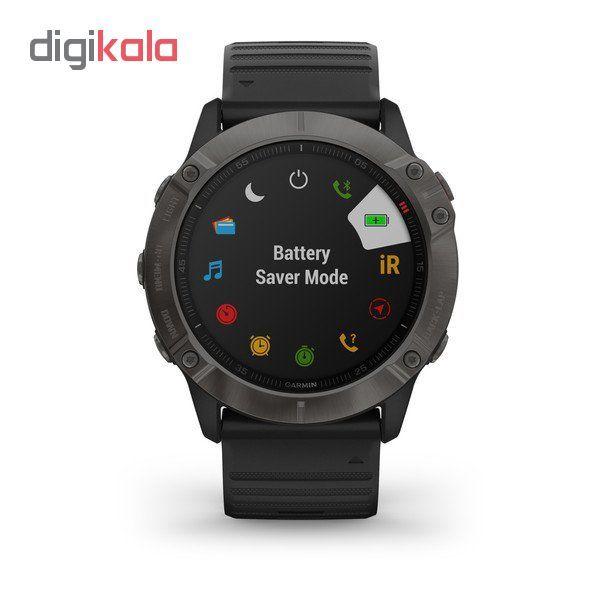 ساعت هوشمند گارمین مدل fenix 6x sapphire main 1 5