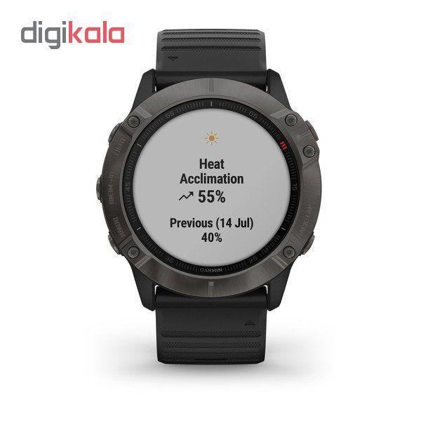 ساعت هوشمند گارمین مدل fenix 6x sapphire main 1 6