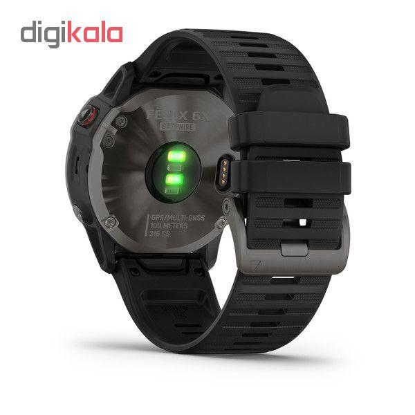 ساعت هوشمند گارمین مدل fenix 6x sapphire main 1 8