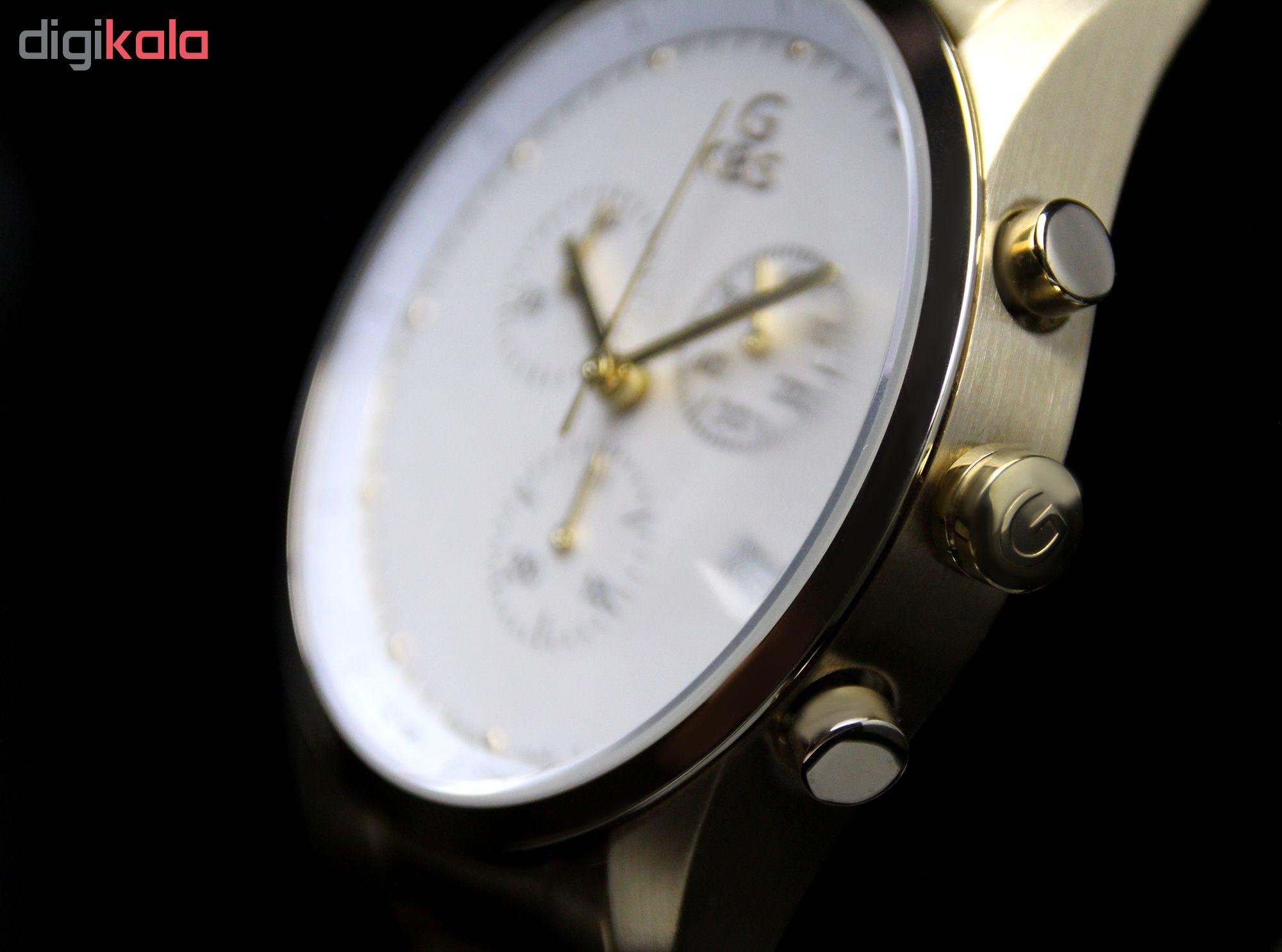 ساعت مچی عقربه ای مردانه جی کی بی اس مدل SN-G-1965C