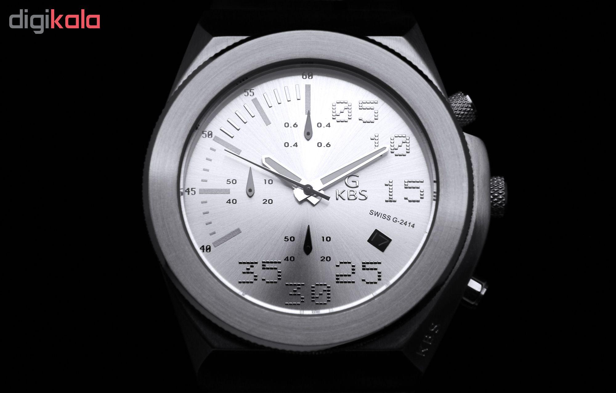 کد تخفیف                                      ساعت مچی عقربه ای مردانه جی کی بی اس کد SN-S-2414