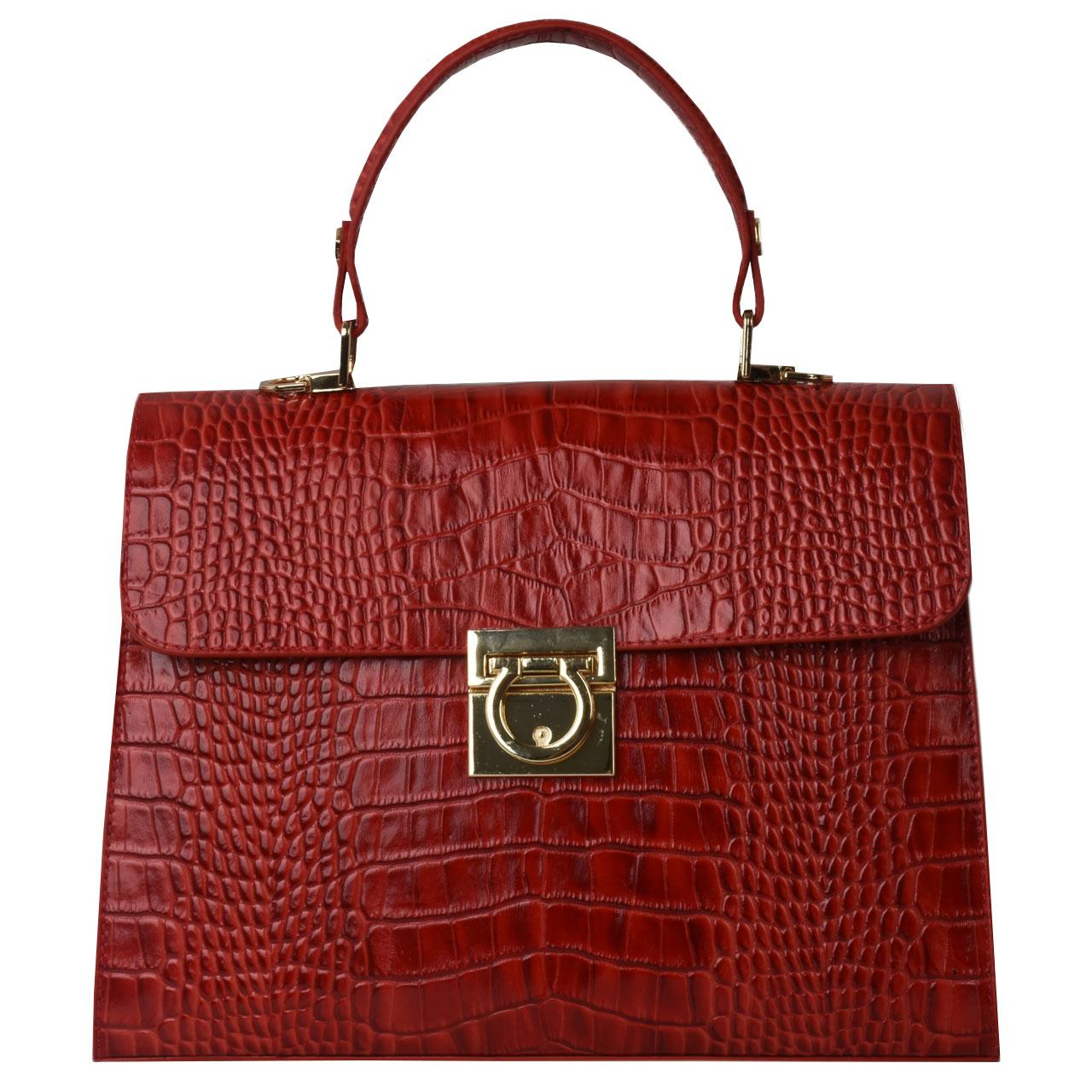 کیف دستی زنانه کهن چرم کد v178-2