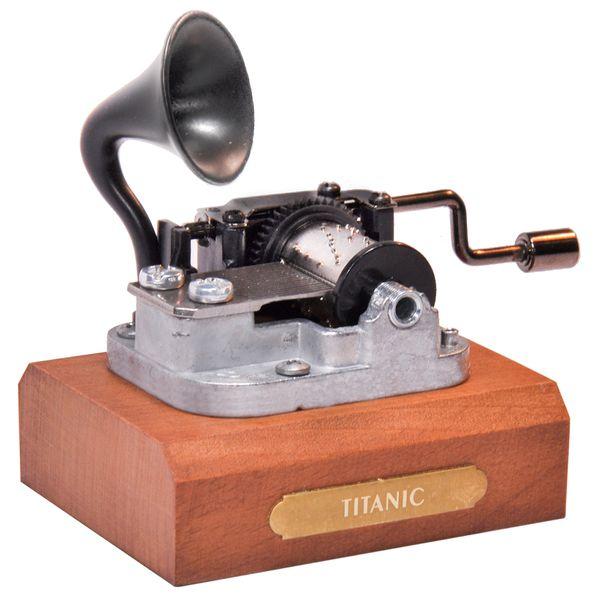 جعبه موزیکال ایل تمپو ولا مدل New Classico ملودی تایتانیک