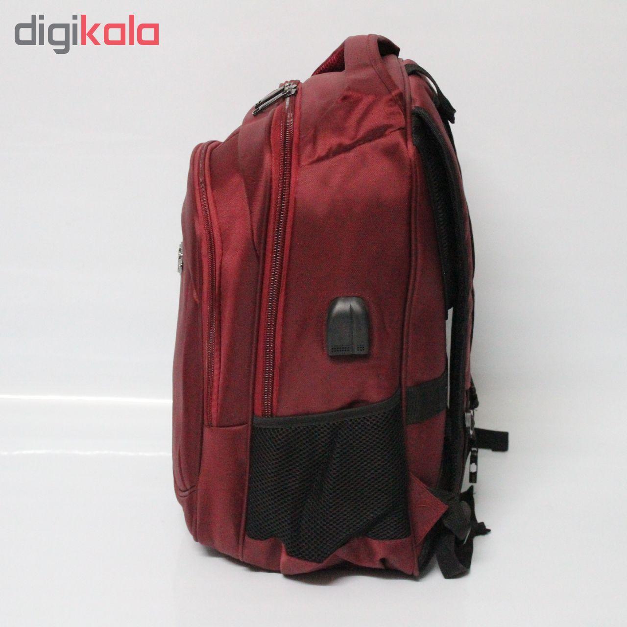 کوله پشتی لپ تاپ پولوپاور مدل 80699 مناسب برای لپ تاپ 15 اینچی