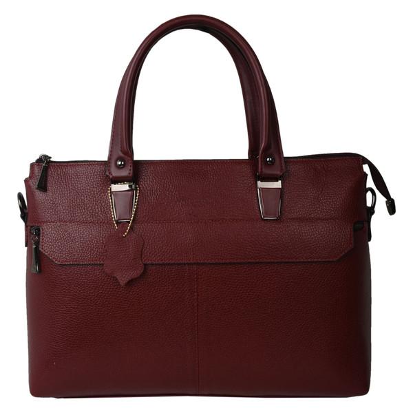 کیف دستی زنانه پارینه چرم مدل PLV165-12-1587