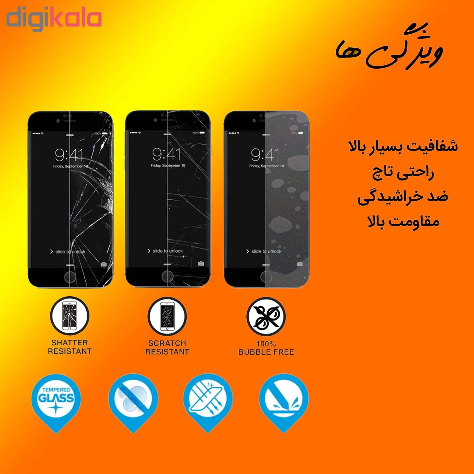محافظ صفحه نمایش مات Hard and thick مدل F-01 مناسب برای گوشی موبایل سامسونگ Galaxy A10 main 1 2