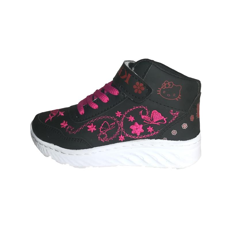 کفش مخصوص پیاده روی دخترانه مدل  kitty  کد Nb01