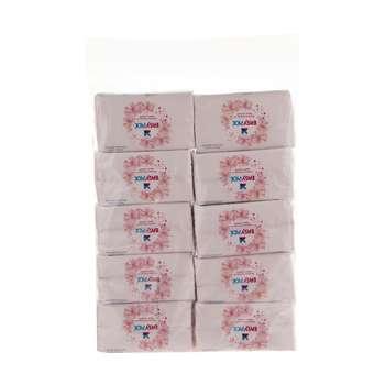 دستمال کاغذی 100 برگ ایزی پیک مدل 2Ply بسته 10 عددی