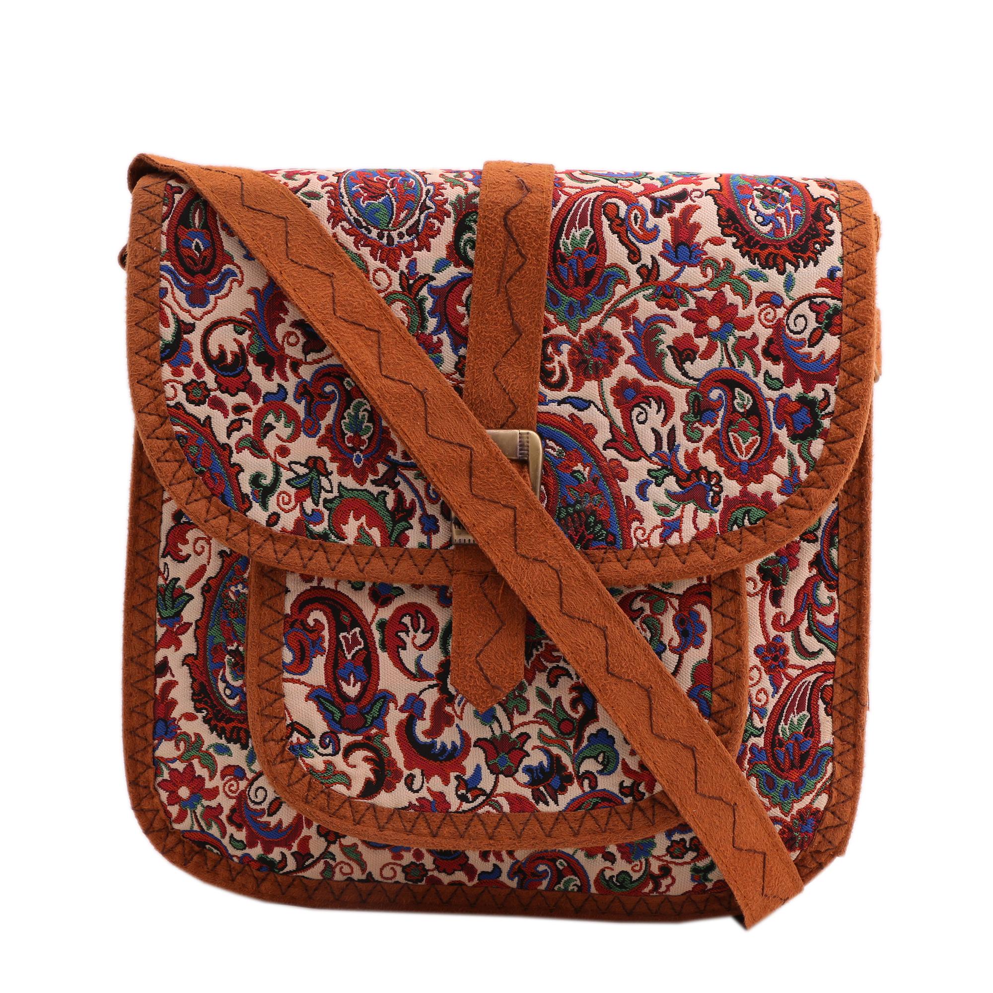 کیف دوشی زنانه کد 4001