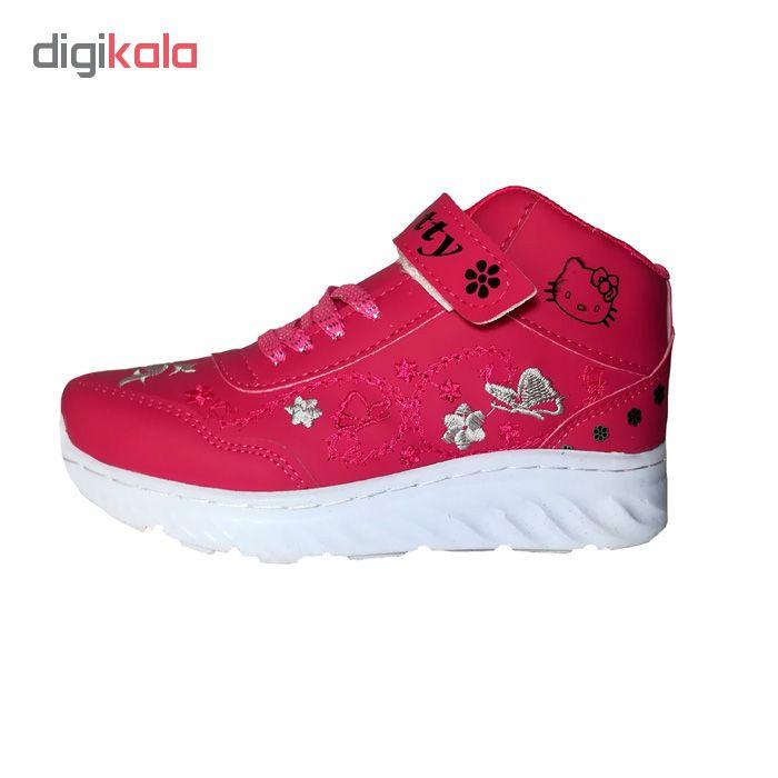 کفش مخصوص پیاده روی دخترانه مدل  kitty  کد No02