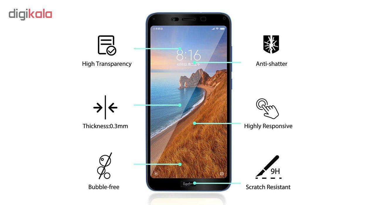 محافظ صفحه نمایش تراستکتور مدل GSS مناسب برای گوشی موبایل شیائومی Redmi 7A بسته 3 عددی main 1 5
