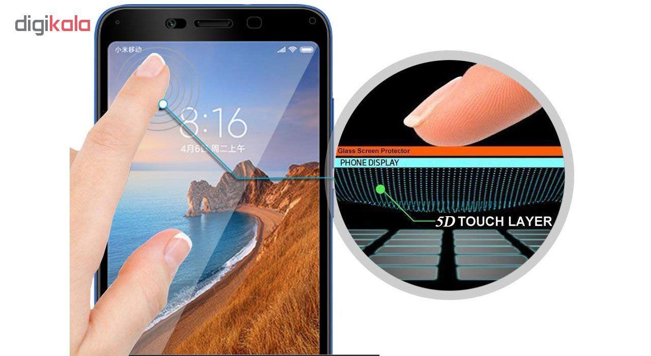 محافظ صفحه نمایش تراستکتور مدل GSS مناسب برای گوشی موبایل شیائومی Redmi 7A بسته 5 عددی main 1 4