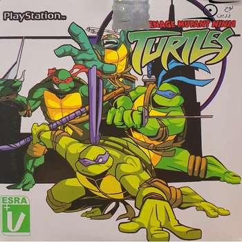 بازی Teenage mutant ninja turtles مخصوص PS1