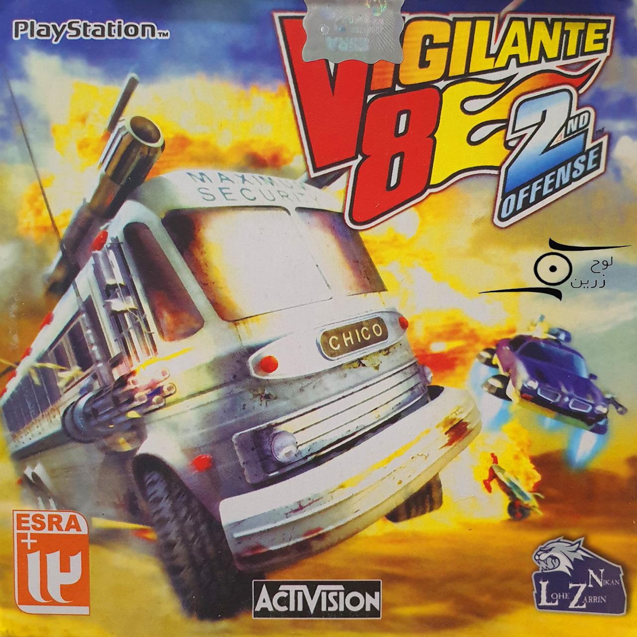 بازی Vigilante 8 - 2nd Offense مخصوص PS1