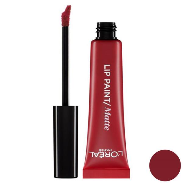 رژ لب مایع لورآل سری Infallible مدل Lip Paint Matte شماره 205