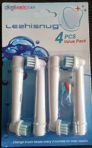 سری یدک مسواک برقی لشسناگ مدل Value-Pack بسته 4 عددی