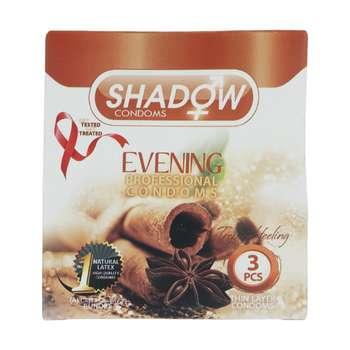کاندوم شادو مدل Evening بسته 3 عددی