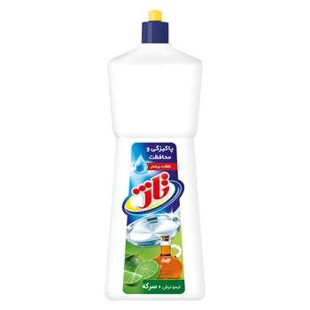 مایع ظرفشویی تاژ مدل Lemon and  Vinegar حجم 1 لیتر