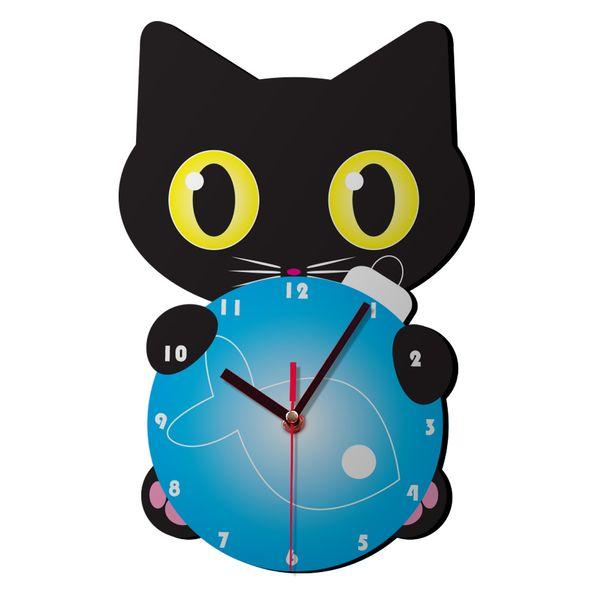 ساعت دیواری کودک ژیوار طرح گربه کوچولو