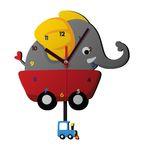 ساعت دیواری کودک ژیوار طرح  فیل کوچولو thumb