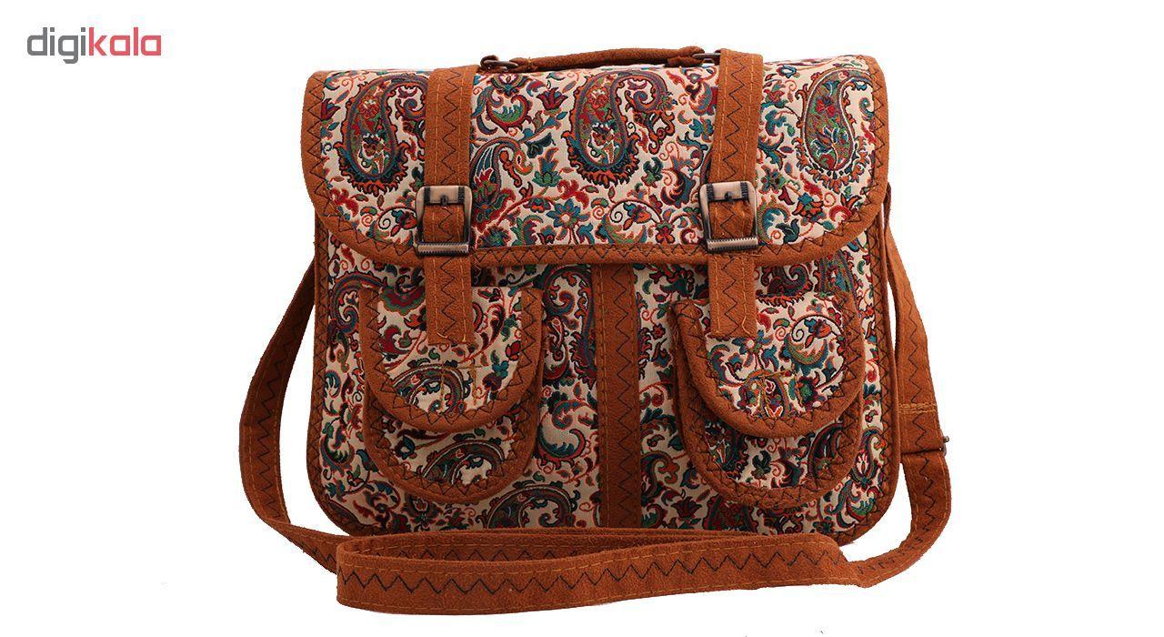 خرید اینترنتی با تخفیف ویژه کیف دوشی زنانه کد 4007