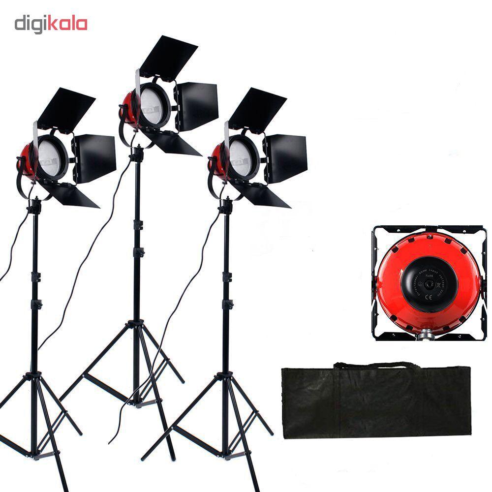 نور ثابت هالوژن مدل NLD-800 بسته 3 عددی  در بزرگترین فروشگاه اینترنتی جنوب کشور ویزمارکت