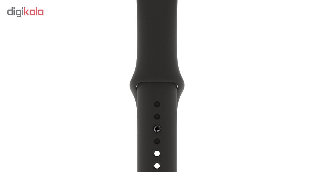ساعت هوشمند اپل واچ سری 5 مدل 44m Space  Aluminum Case  Sport Band main 1 1