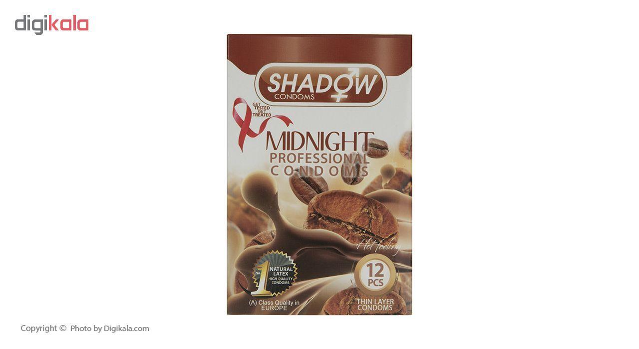 کاندوم شادو مدل Midnight بسته 12 عددی main 1 1