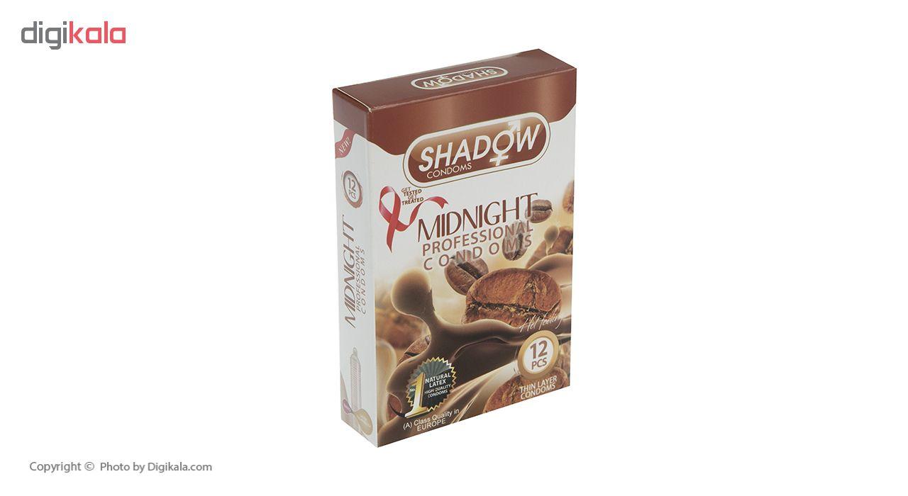 کاندوم شادو مدل Midnight بسته 12 عددی main 1 2