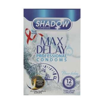 کاندوم شادو مدل Max Delay بسته 12 عددی