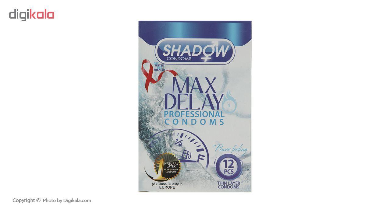 کاندوم شادو مدل Max Delay بسته 12 عددی main 1 1