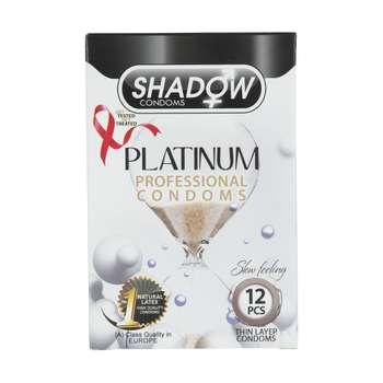 کاندوم شادو مدل Platinum بسته 12 عددی