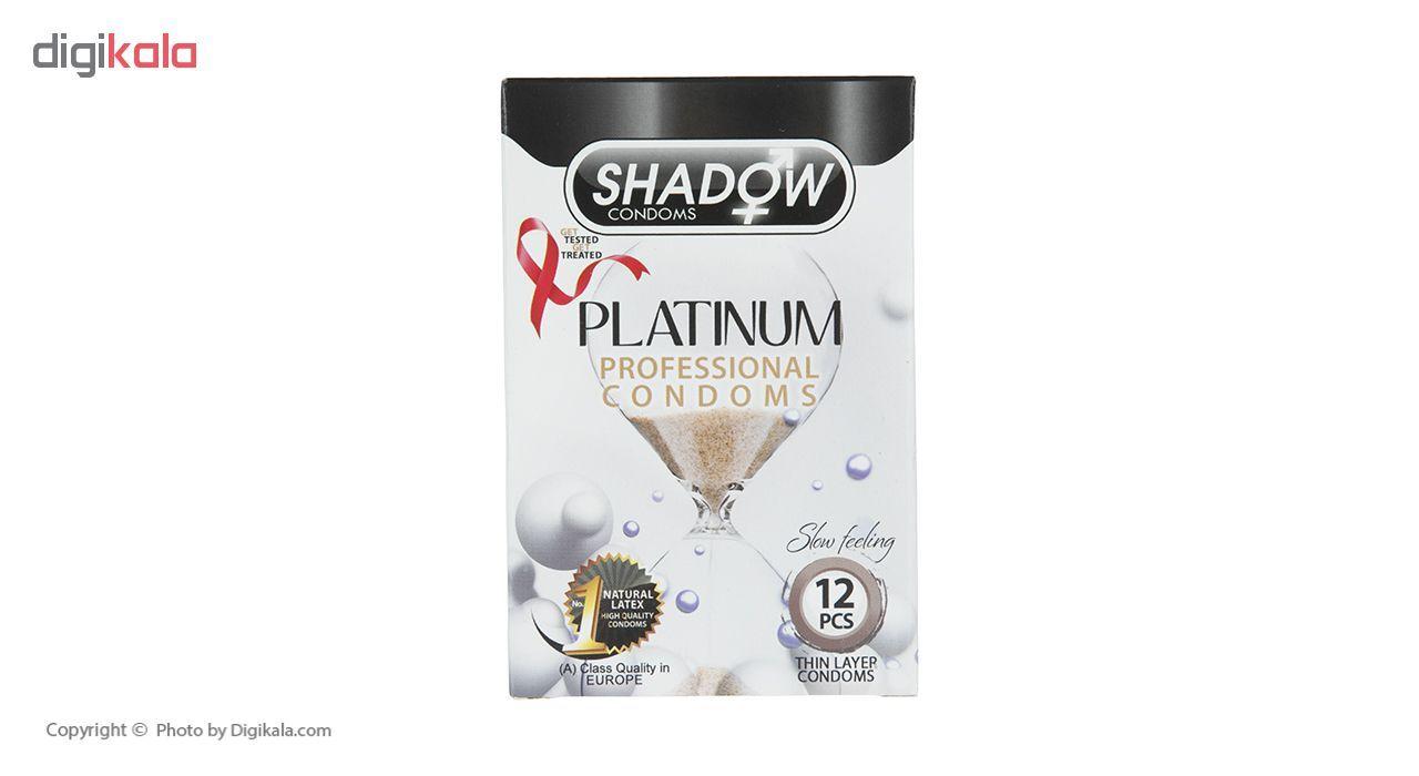 کاندوم شادو مدل Platinum بسته 12 عددی main 1 1