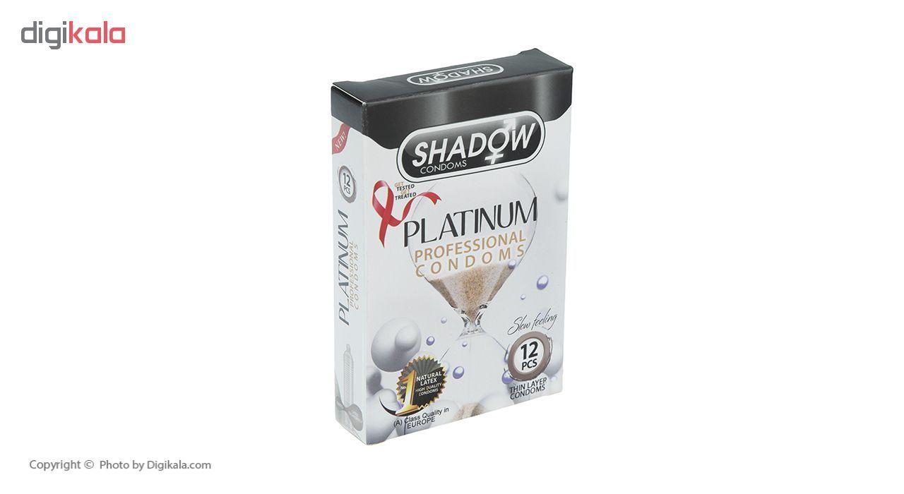 کاندوم شادو مدل Platinum بسته 12 عددی main 1 2