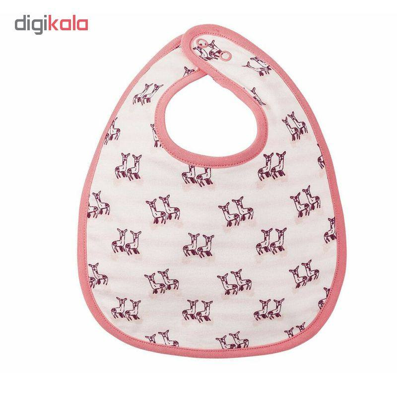 پیش بند نوزادی دخترانه لوپیلو کد LUPMADLATZ1 مجموعه 2 عددی