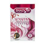 کاندوم شادو مدل Sensitive بسته 12 عددی