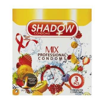 کاندوم شادو مدل Mix بسته 3 عددی