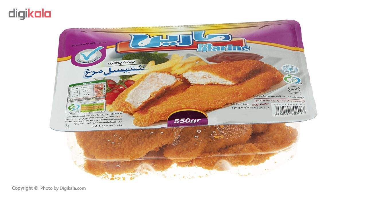 شنیسل مرغ مارین مقدار 550 گرم main 1 4