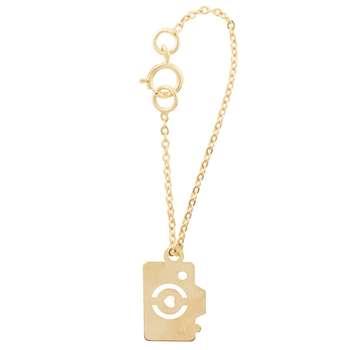 آویز ساعت طلا 18 عیار زنانه طرح دوربین عکاسی کد SG503